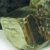 Hubeite On Pyrite