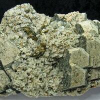 Microcline & Albite & Titanite & Schorl & Muscovite