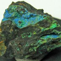 Cyanotrichite & Brochantite & Malachite