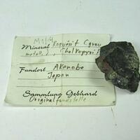 Roquesite In Chalcopyrite & Galena