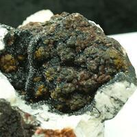 Manganite & Baryte & Fluorite
