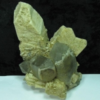 Orthoclase Var Baveno Twin & Quartz