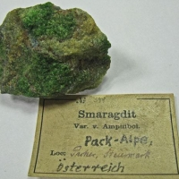 Actinolite Var Smaragdite