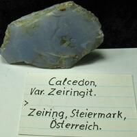 Chalcedony Var Zeiringite