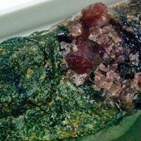Ferro-ferri-winchite & Rhodonite
