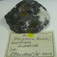 Galena & Chalcopyrite & Sphalerite