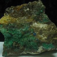 Linarite & Malachite