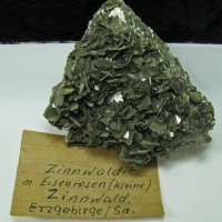 Zinnwaldite & Iron Rose