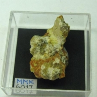 Amarantite & Epsomite