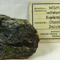 Bismuth Bismuthinite & Chalcopyrite
