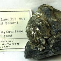 Alluaudite & Muscovite & Schorl