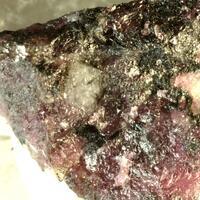 Magnesio-riebeckite & Eudialyte