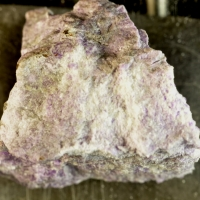Pectolite On Sugilite