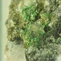 Actinolite & Adularia & Malachite