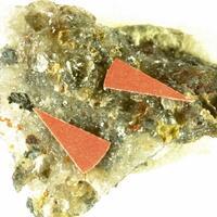 Parasymplesite & Nickeline & Rammelsbergite