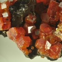 Vanadinite On Limonite