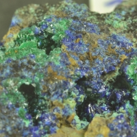 Brochantite & Azurite
