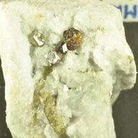 Tourmaline & Sphalerite & Pyrite