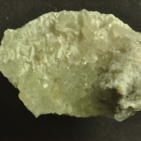 Prehnite On Laumontite