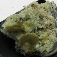 Augelite & Pyrite & Siderite