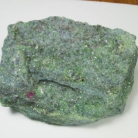 Kyanite In Fuchsite