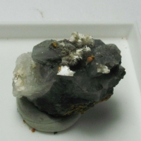 Picropharmacolite On Calcite