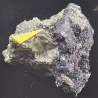 Erythrite On Skutterudite