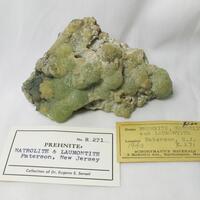 Prehnite & Laumontite & Natrolite