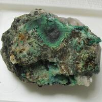 Wittichenite & Mixite & Malachite & Chrysocolla