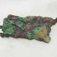 Cuprite On Copper & Malachite
