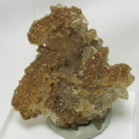 Apophyllite & Hubeite On Quartz