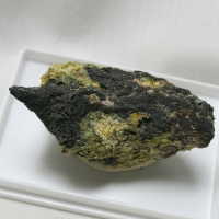 Native Arsenic & Löllingite & Arsenolite