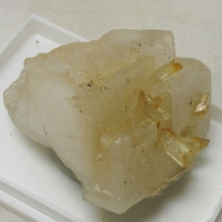 Gypsum On Halite