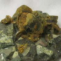 Siderite On Pyrite
