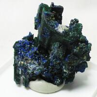 Azurite & Azurite Psm Malachite & Cerussite