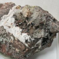 Xenotime & Hematite On Quartz