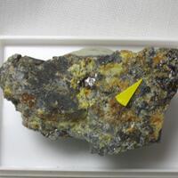 Ullmannite & Sphalerite & Siderite & Quartz