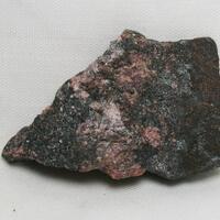 Rhodonite & Schefferite & Magnetite