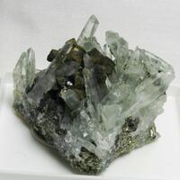Chalcopyrite & Quartz & Sphalerite