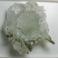Fluorite & Calcite & Quartz & Chlorite