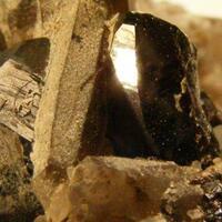 Cassiterite With Smoky Quartz