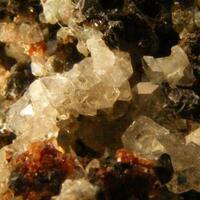 Fluorapophyllite Sphalerite & Spessartine