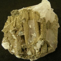 Pyrite On Calcite