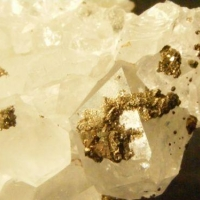 Quartz With Pyrite