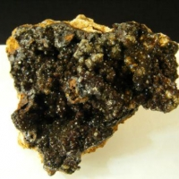 Fluellite On Goethite