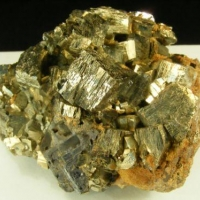 Pyrite With Galena