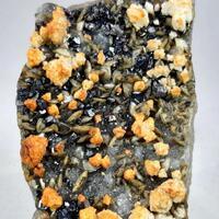 Sphalerite Ankerite & Siderite