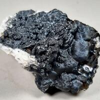 Psilomelane & Fluorite