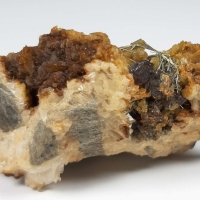 Millerite Sphalerite & Ankerite