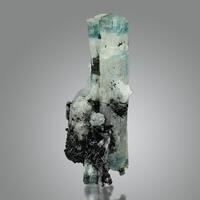 Aquamarine & Schorl